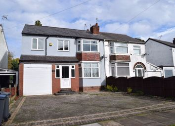 Thumbnail 4 bed semi-detached house for sale in Ridgacre Road, Quinton