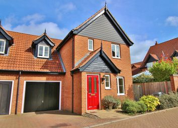 Thumbnail 3 bedroom link-detached house for sale in Proudfoot Way, Aylsham, Norwich