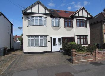 Thumbnail 4 bed semi-detached house for sale in Geneva Gardens, Chadwell Heath, Romford