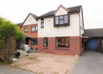 Thumbnail 3 bed link-detached house for sale in Church Lane, Whitwick, Coalville