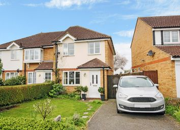 Thumbnail 3 bed semi-detached house for sale in Kristiansand Way, Letchworth Garden City