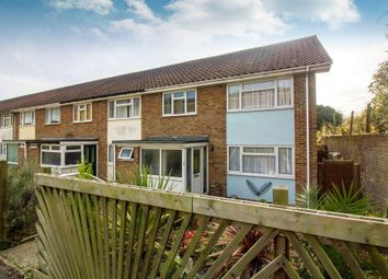 Thumbnail 2 bed end terrace house for sale in Hollands Avenue, Folkestone