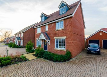 Thumbnail 5 bed detached house for sale in Colossus Way, Norwich