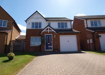 Thumbnail 4 bedroom detached house for sale in Goldthorpe Close, Cramlington