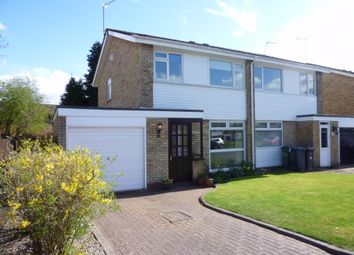 Thumbnail 3 bed semi-detached house for sale in Weston Close, Dunchurch, Rugby, Warwickshire