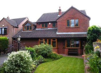 Thumbnail 4 bed detached house for sale in Croft Gardens, Chase Terrace, Burntwood