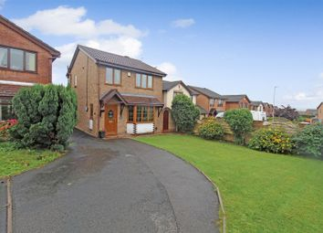 Thumbnail 3 bed detached house for sale in Crossmead Grove, Northwood, Stoke-On-Trent