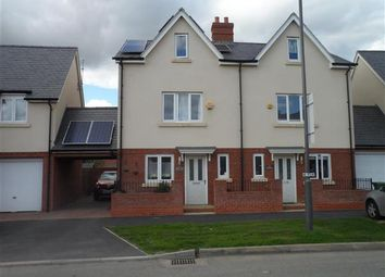 Thumbnail 3 bed semi-detached house to rent in Paradise Orchard, Berryfields, Aylesbury
