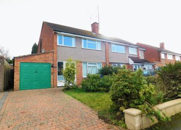 Thumbnail 3 bed semi-detached house for sale in Sidmouth Avenue, Baswich, Stafford