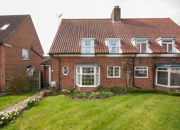 Thumbnail 3 bedroom semi-detached house for sale in Howard Close, Walton On The Hill, Tadworth, Surrey
