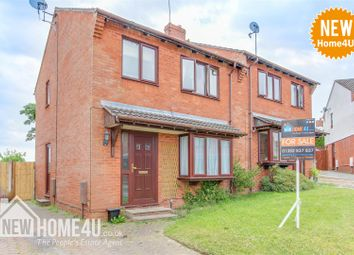 Thumbnail 3 bedroom semi-detached house for sale in Ffordd Las, Sychdyn, Mold