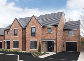 "Thumbnail 4 bed detached house for sale in ""The Benridge"" at Loansdean, Morpeth"