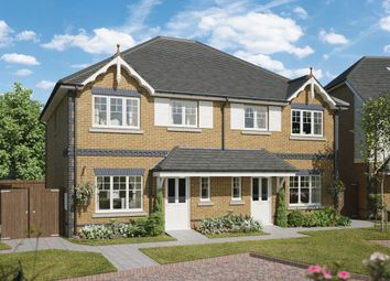 Thumbnail 3 bed semi-detached house for sale in Compass Fields, Bucks Avenue, Watford