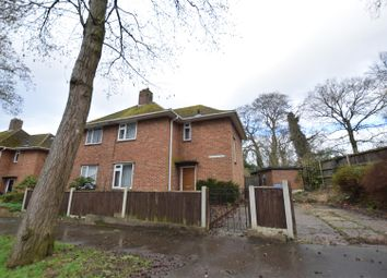 Thumbnail 3 bed semi-detached house for sale in Pitchford Road, Norwich