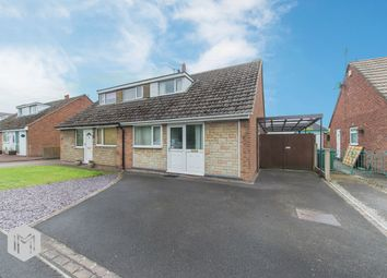 Thumbnail 2 bedroom semi-detached bungalow for sale in Browmere Drive, Croft, Warrington