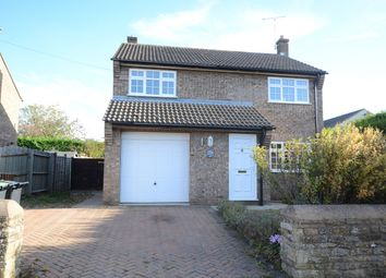 Thumbnail 4 bed detached house to rent in Main Street, Woodnewton, Peterborough