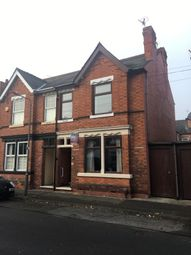 Thumbnail 3 bed semi-detached house for sale in Cranmer Street, Long Eaton, Nottingham