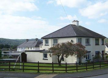 Thumbnail 3 bedroom semi-detached house for sale in Tregerddan, Bow Street, Aberystwyth