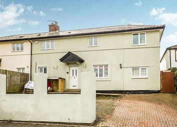 Thumbnail 4 bed semi-detached house for sale in Palmantmawr, Weston Rhyn, Oswestry