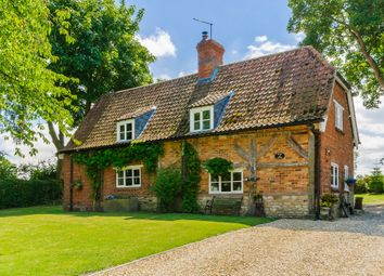 Thumbnail 4 bed detached house for sale in Graby Cottage, Graby, Sleaford
