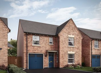 """Thumbnail 4 bed detached house for sale in """"4 Bedroom Detached House With Integral Garage"""" at Grange Road, Hugglescote, Coalville"""
