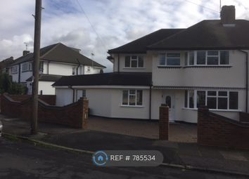 Thumbnail 5 bed semi-detached house to rent in Pine Gardens, Ruislip