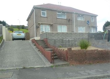 Thumbnail 3 bed semi-detached house for sale in Brynllwarch, Maesteg, Maesteg, Mid Glamorgan