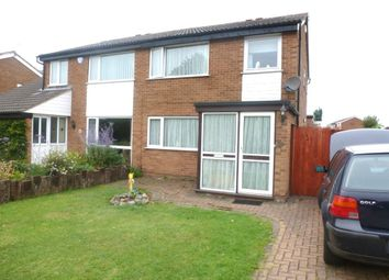Thumbnail 3 bed semi-detached house to rent in Bideford Close, Wigston