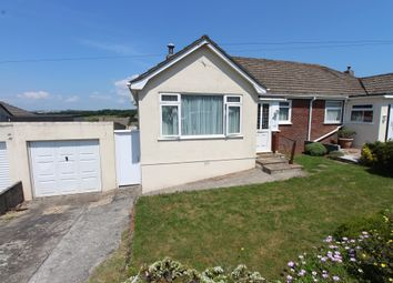 Thumbnail 3 bed semi-detached bungalow for sale in Stanborough Road, Plymstock, Plymouth, Devon