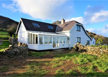 Thumbnail 4 bed detached house for sale in Trefor, Caernarfon