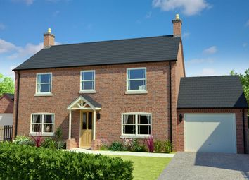 Thumbnail 4 bed detached house for sale in Blackthorn Lane, Off Stanhope Road, Horncastle