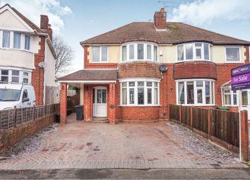 Thumbnail 3 bed semi-detached house for sale in Hilston Avenue, Wolverhampton