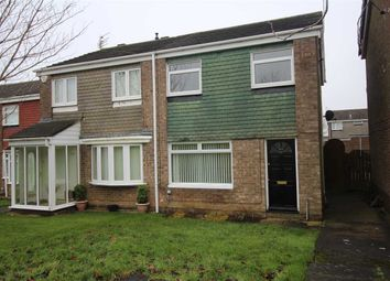 Thumbnail 3 bed semi-detached house for sale in Falmouth Walk, Parkside Dale, Cramlington