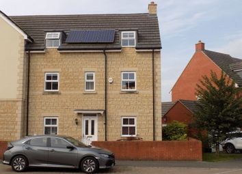 Thumbnail 4 bed semi-detached house for sale in Dior Drive, Royal Wootton Bassett, Swindon