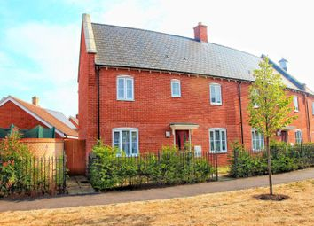 Thumbnail 3 bed end terrace house to rent in Hooper Avenue, Colchester