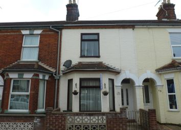Thumbnail 3 bedroom terraced house to rent in Worthing Road, Lowestoft
