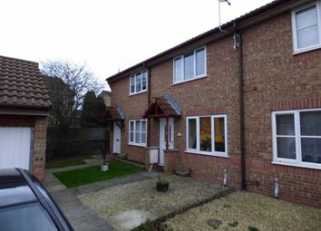 Thumbnail 2 bed terraced house to rent in Lombardy Close, Weston-Super-Mare