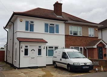 Thumbnail 1 bed semi-detached house to rent in Grosvenor Avenue, Hayes