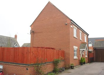 Thumbnail 3 bed detached house for sale in Far Pastures Road, Birstall, Leicester