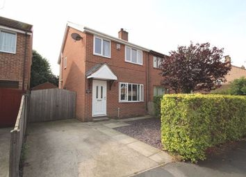 Thumbnail 3 bed semi-detached house to rent in Pinewood Drive, Camblesforth, Selby