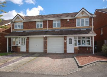 Thumbnail 3 bedroom semi-detached house for sale in Palmers Green, Forest Hall, Newcastle Upon Tyne