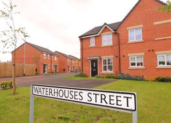 Thumbnail 3 bed semi-detached house for sale in Waterhouses Street, Audenshaw, Manchester