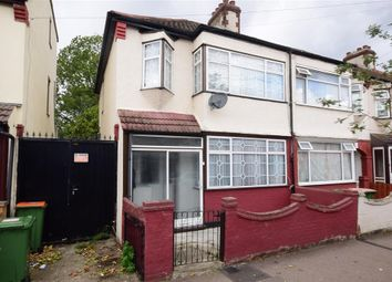 Thumbnail 4 bed end terrace house for sale in Lawrence Avenue, Manor Park, London