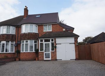 Thumbnail 4 bed semi-detached house for sale in Dalkeith Road, Sutton Coldfield