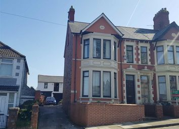 Thumbnail 4 bedroom end terrace house for sale in Barry Road, Barry