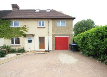 Thumbnail 4 bed semi-detached house to rent in Victory Park Road, Addlestone