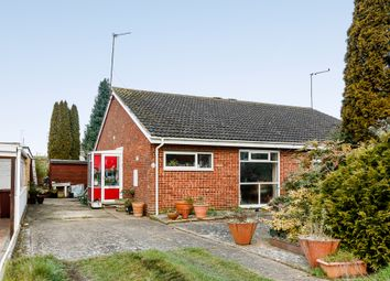 Thumbnail 2 bed semi-detached bungalow for sale in Stubble Close, Northampton