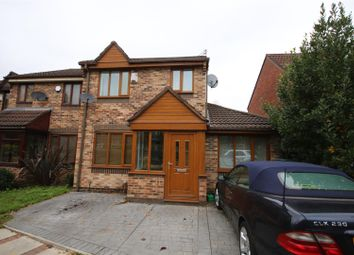 Thumbnail 3 bed semi-detached house for sale in Montondale, Eccles, Manchester
