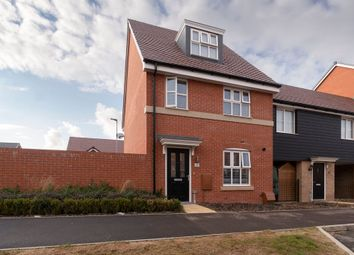 Thumbnail 4 bed semi-detached house for sale in Galapagos Grove, Newton Leys, Bletchley, Milton Keynes
