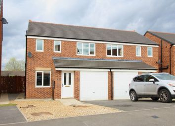 Thumbnail 3 bed semi-detached house to rent in Hutchinson Close, Coundon, Bishop Auckland